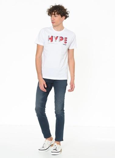 Hummel Erkek Tişört Faun 910480-9001 Beyaz